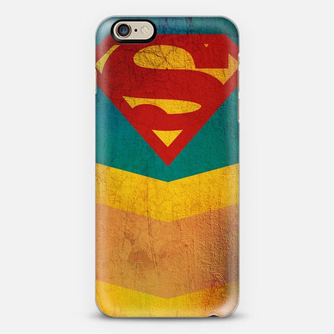 Retro Superman iPhone 7 Case - Edmotic