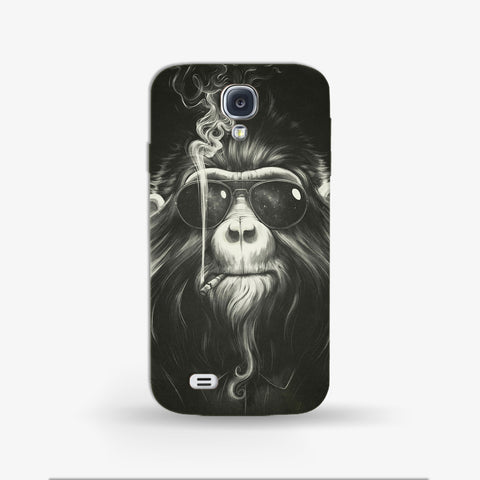Smokin Monkey  Samsung Galaxy S4 Mini CASE - Edmotic