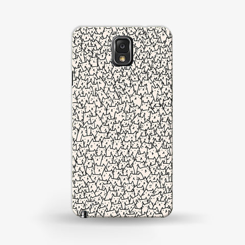 So Many Cats Samsung Galaxy Note 3 CASE - Edmotic