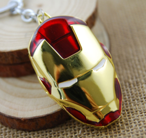 Iron Man Mask Keychain - Edmotic - 1