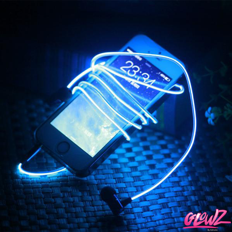 GLOWZ LED GLOW EARPHONES
