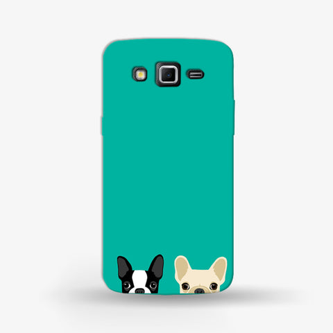 Twin Bulldog  Samsung Galaxy Grand 2 CASE - Edmotic