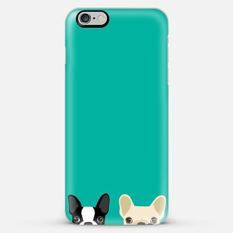 Twin Bulldog Iphone 6s Plus case - Edmotic