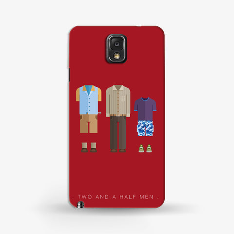 Two And a Half Men   Samsung Galaxy Note 3 CASE - Edmotic