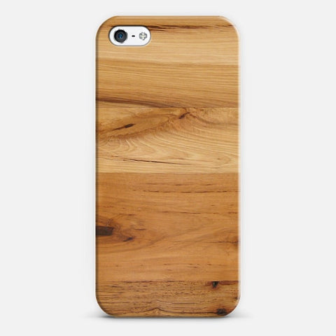 Wood iPhone 5/5s Case - Edmotic