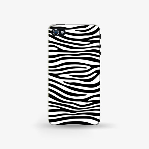 Zebra Print  Iphone 4/4s Case - Edmotic