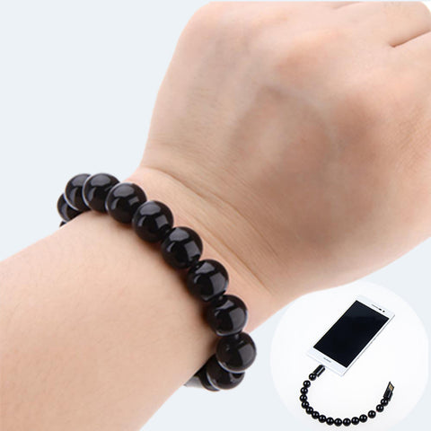 BEADS CHARGING WRISTBAND FOR ANDROID - Edmotic - 1