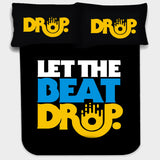 LET THE BEAT DROP BEDSHEET