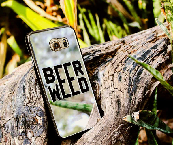 BEER WEED PHONE CASE FOR SAMSUNG S6 EDGE