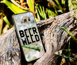 BEER WEED PHONE CASE FOR SAMSUNG S6