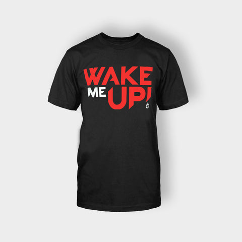 AVICII WAKE ME UP T-SHIRT BLACK - Edmotic