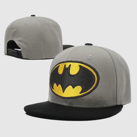 BATMAN GREY SNAPBACK - Edmotic