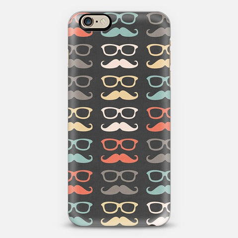 Colorful Moustache  Iphone 6 Case - Edmotic