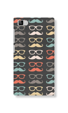 Colorful Moustache (Xiaomi MI3) - Edmotic