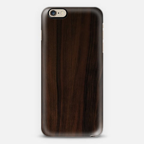 Dark Wood iPhone 6 Case - Edmotic
