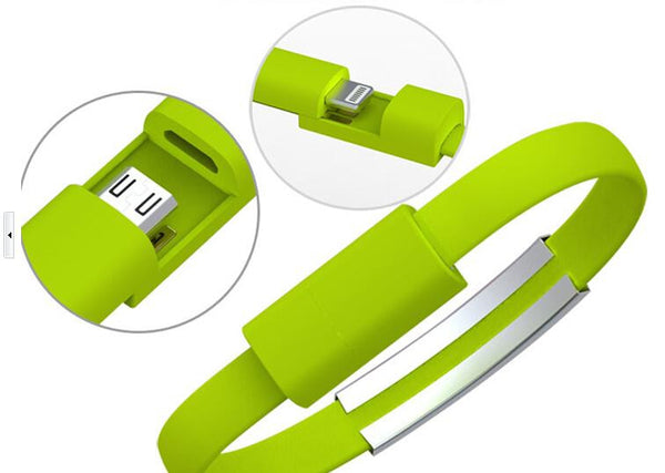 WRISTBAND CHARGING CABLE FOR ANDROID