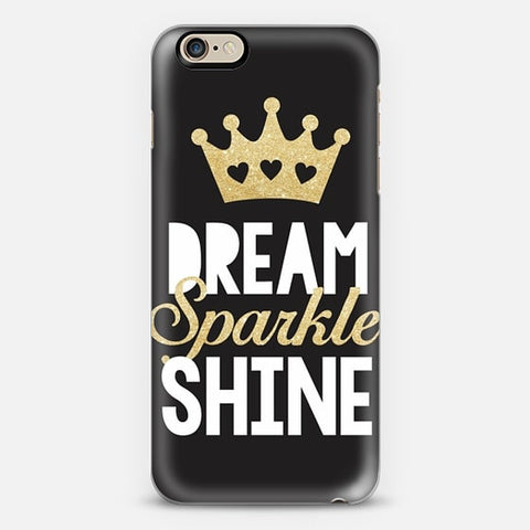 Dream, Sparkle, Shine iPhone 6 Plus Case - Edmotic