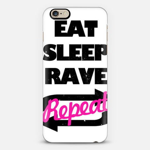 Eat Sleep Rave Repeat iPhone 7 Case - Edmotic