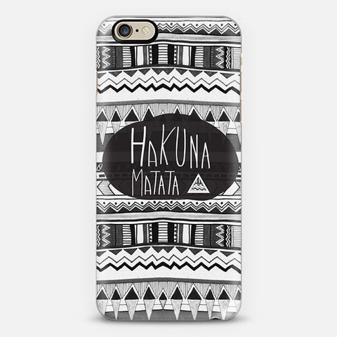 Hakuna Matata Iphone 6 Case - Edmotic