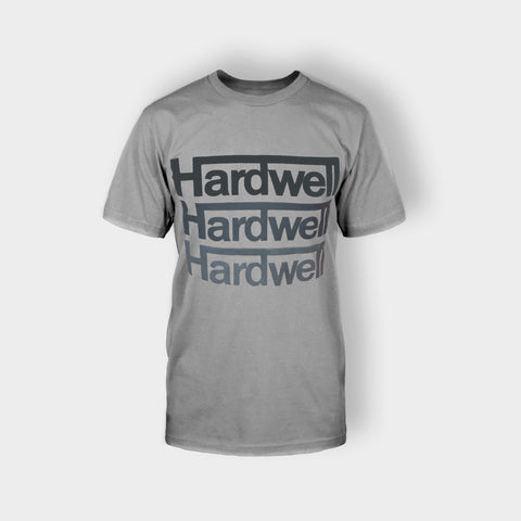 HARDWELL T-SHIRT GREY - Edmotic