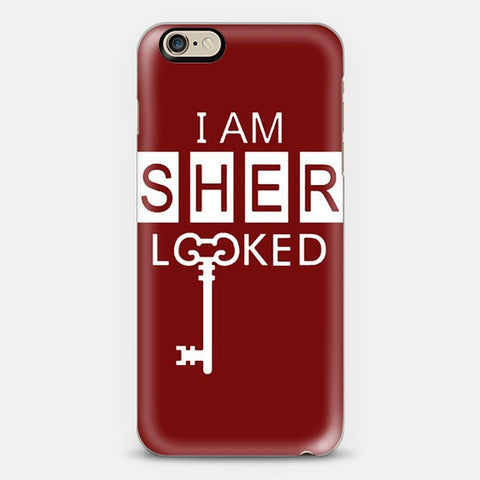 I Am Sherlocked  Iphone 6 Case - Edmotic