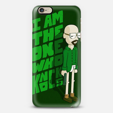 I Am The One Who Knocks iPhone 7 Case - Edmotic