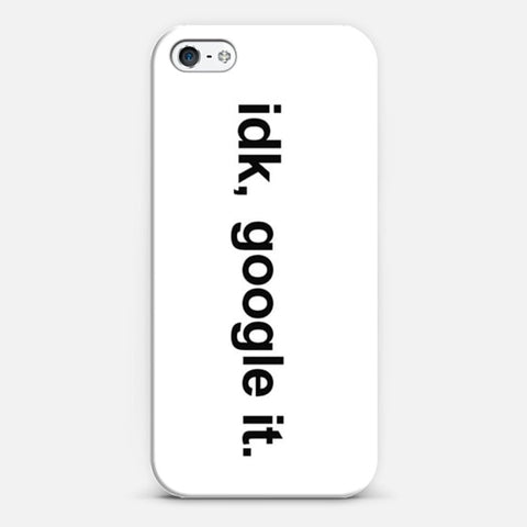 idk, Google it iPhone 5/5s Case