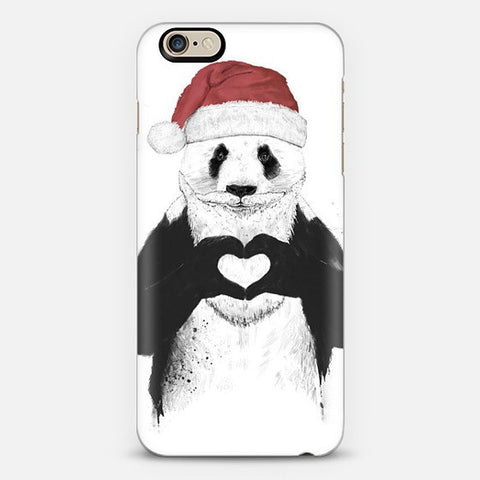 Santa Panda iPhone 7 Case - Edmotic