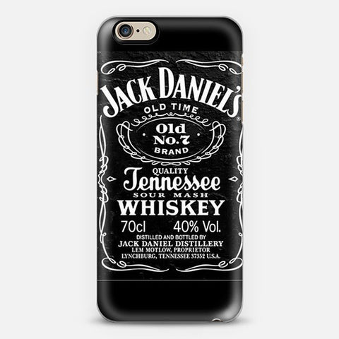 Jack Daniels Iphone 6s case - Edmotic