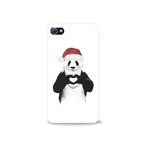 Santa Panda Iphone 4/4s Case - Edmotic