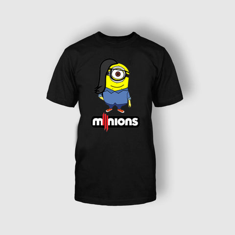 SKRILLEX MINION BLACK T-SHIRT - Edmotic