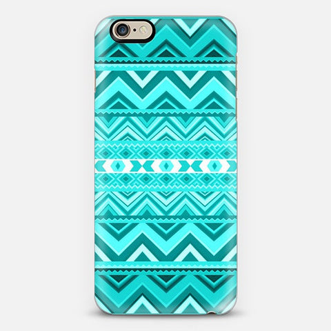 Mint Aztec Iphone 6 Case - Edmotic