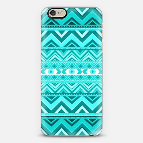 Mint Aztec iPhone 7 Case - Edmotic