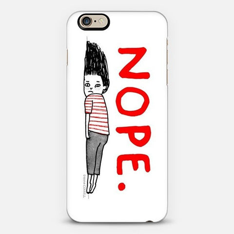 Nope Feeling  Iphone 6s case - Edmotic