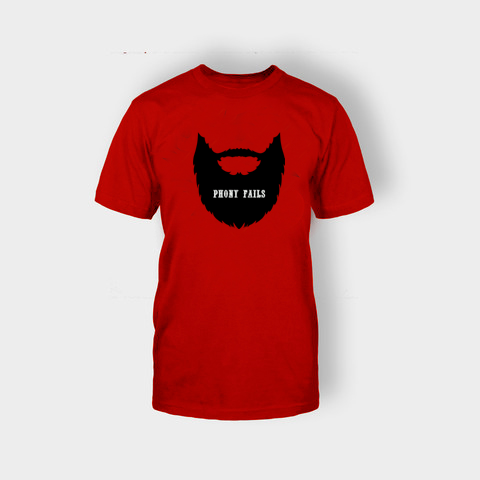 Phony Beard T-shirt - Edmotic