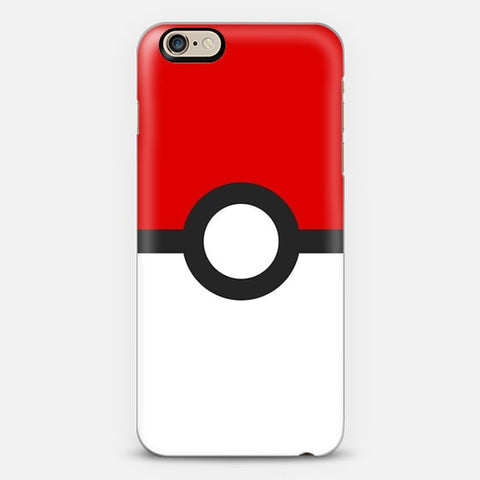 Poke Ball iPhone 6 Plus Case - Edmotic
