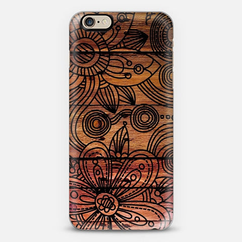 Art Wood iPhone 6/6s Plus Case - Edmotic