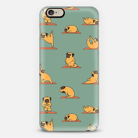 PUG YOGA iPhone 6 Plus Case - Edmotic