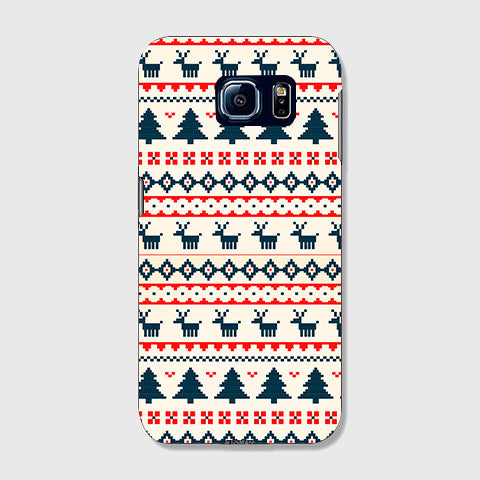 Christmas Snow Aztec SAMSUNG GALAXY S6 CASE - Edmotic