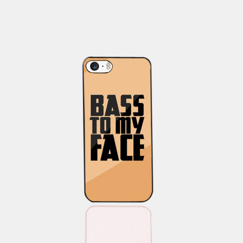 Bass to my Face Gold Phone Case (iPhone 5) - Edmotic - 1