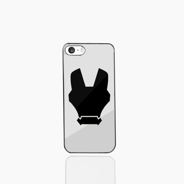 Iron Man Silver Phone Case (I Phone 5)