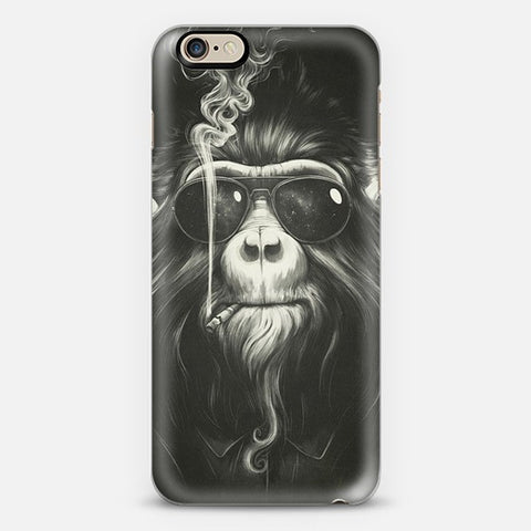 Smokin Monkey Iphone 6 Case - Edmotic