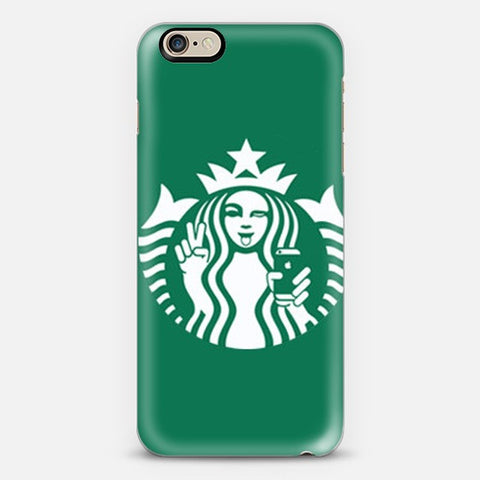 Starbucks Selfie Iphone 6 Case - Edmotic