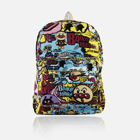 BAIKIN MAN UNISEX BACKPACK - Edmotic - 1