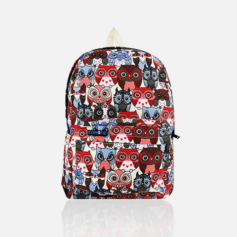 SO MANY OWL UNISEX BACKPACK - Edmotic - 1