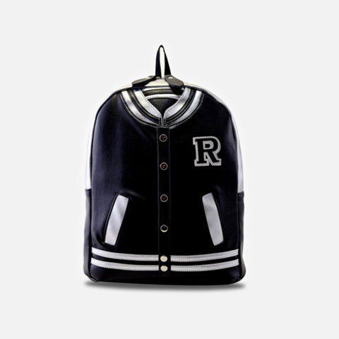 JACKET BACKPACK BLACK - Edmotic - 1