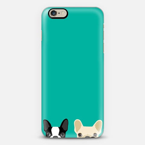 Twin Bulldog Iphone 6s case - Edmotic