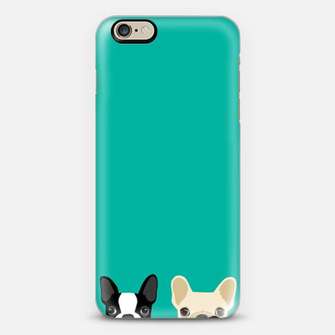 Twin Bulldog Iphone 6 Case - Edmotic