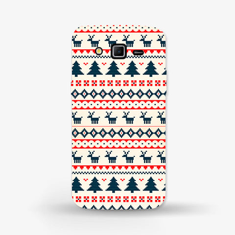 Christmas Snow Aztec Samsung Galaxy Grand CASE - Edmotic
