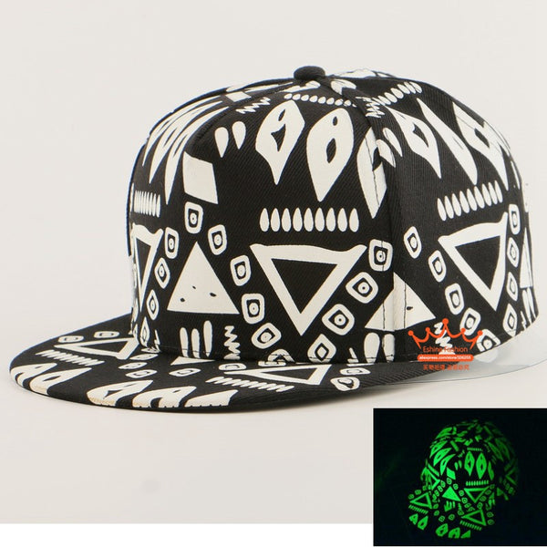 GRAFFITI 2 GLOW IN DARK SNAPBACK